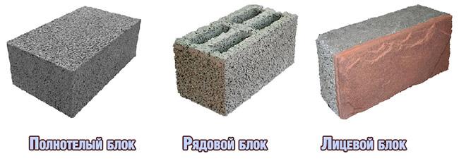 Керамзитобетонный блок: применение